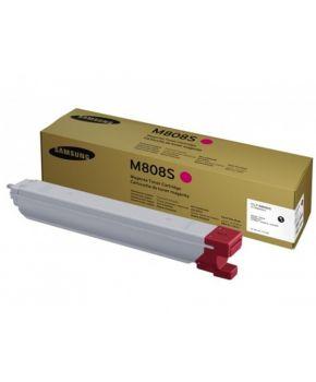 Cartucho de Toner Samsung CLT-M808S Magenta Original para 23,000 páginas.