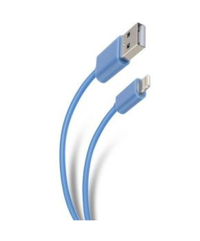 Cable USB a Lightning Carga y Datos de 2m marca Steren.