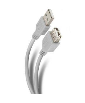 Extensión de USB Plug a USB Jack de 1.80m Marca Steren.