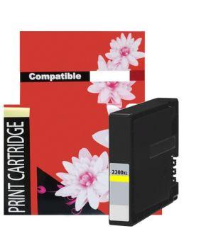 Cartucho de Tinta PGI-2200XLY Amarillo Generación 2 de Alto rendimiento para 1,500 páginas.
