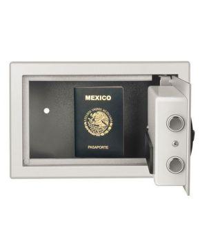 Caja fuerte de 31x20x20 con cerradura electrónica marca Steren