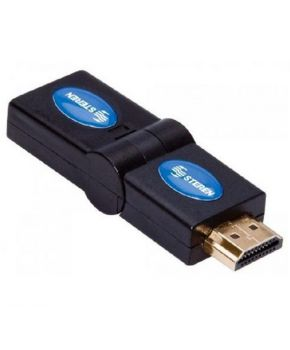 Adaptador HDMI de Jack a Plug Gira hasta 180° marca Steren