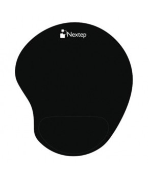 Mouse Pad Ergonómico gel color negro marca Nextep