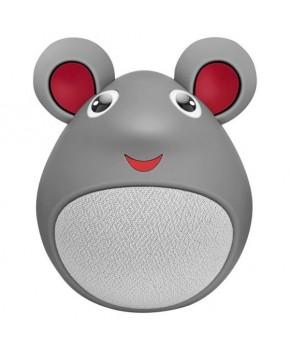 Mini bocina Bluetooth con forma de ratón marca Steren