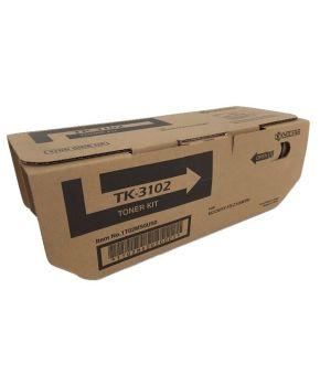 Cartucho de Toner Kyocera TK-3102 Negro Original para 12,500 páginas.
