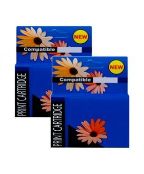 Duo pack de 2 Cartuchos de Tinta 60XL (CC641WL) (CC644WL) Negro y Tricolor Generación 2 de Alto rendimiento para 600 y 440 páginas.