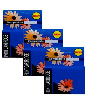 Tripack pack de 3 Cartuchos de Tinta 2 74XL (CB336WL) Negro y 1 75XL (CB338WL) Tricolor Generación 2 de Alto rendimiento.