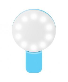 Lámpara Led Mini para selfie de 3 tipos de iluminación marca Steren