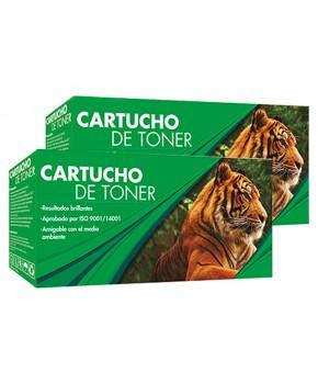 Duo Pack de Cartucho de Tóner 105A (W1105A) Negro Generación 2 Calidad Estándar para 1,000 páginas.