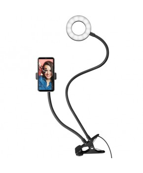 Soporte con lámpara LED para celular marca Steren