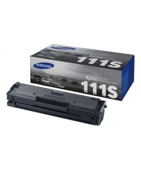 Cartucho de Toner Original Samsung MLT-D111S Negro de para 1000 impresiones.