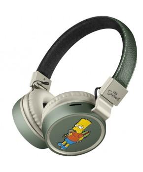 Audífonos Bluetooth Simpsons con Reproductor MP3 marca Steren