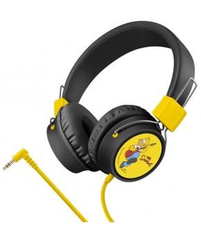 Audífonos de diadema Simpsons Alámbrico marca Steren