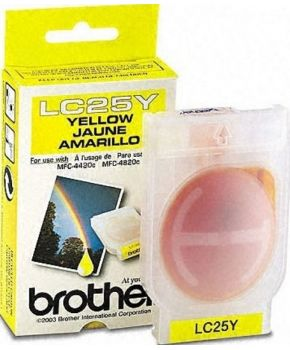 Cartucho de tinta para Brother LC-25 Amarillo marca OA-100