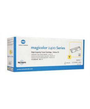 Toner Magicolor 2400/ 2430 Amarillo Original alto rendimiento