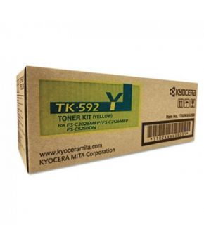Toner Original Kyocera TK-592Y Color Amarillo 5,000 paginas