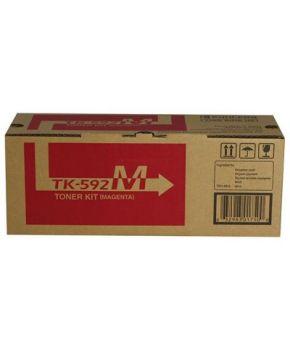 Toner Original Kyocera TK-592M Color Magenta 5,000 paginas