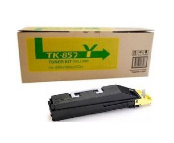 Toner Original Kyocera TK-857Y para 18,000 paginas