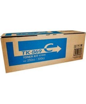 Toner Original Kyosera CS250/CS300 Cyan para 12,000 impresiones