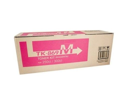 Toner Original Kyosera CS250/CS300 Magenta para 12,000 impresiones