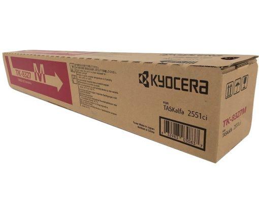 Toner Original Kyosera TK-8327 Magenta para 12,000 impresiones.