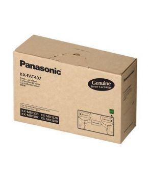 Cartucho de Toner Panasonic Original KX-FAT407 psrs 2500 Impresiones.