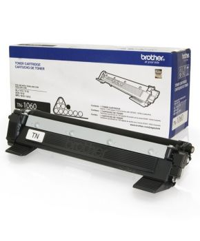 Cartucho de Toner Brother TN-1060 Negro Original para 1,000 páginas.