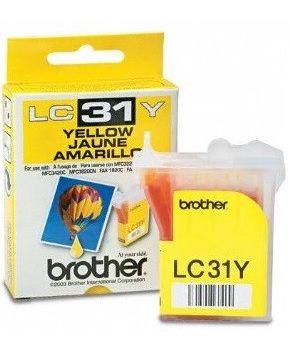 Cartucho de tinta para Brother LC-31 Amarillo marca OA-100