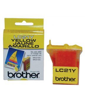 Cartucho de tinta para Brother 3100/ 3200/ 5100 Amarillo OA-100
