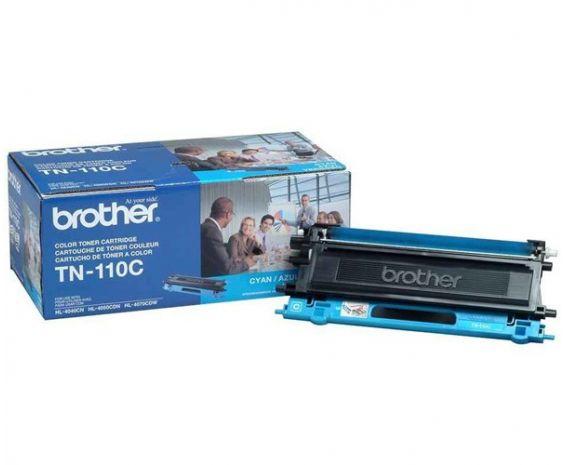 Toner Brother Cyan TN-110 Original para 1500 Impresiones.