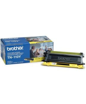 Toner Brother Amarillo TN-110 Original para 1500 Impresiones.