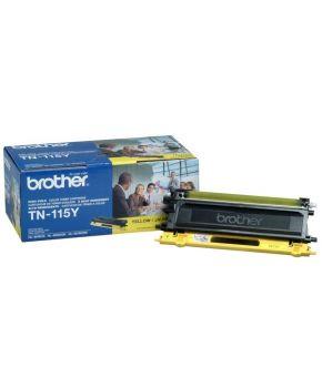 Toner Brother Amarillo TN-115 Original para 4000 Impresiones.
