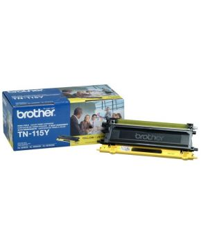 Toner Brother Amarillo TN-115 Original para 4000 Impresiones.