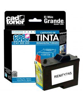 Cartucho remanufacturado color 7Y745 para Dell A940/ A960