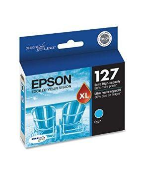 Cartucho de Tinta Original Epson T127220 Cyan 765 impresiones