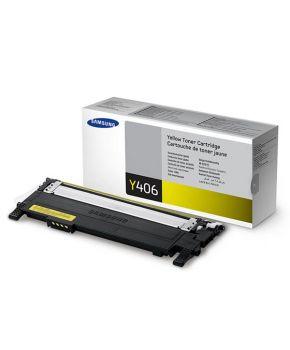 Cartucho de Toner Samsung Y406S (CLT-Y406S) Amarillo Original para 1,000 páginas.