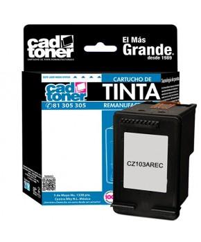 Cartucho de Tinta HP CZ103AL Negro Recarga Propiedad del Cliente 120 impresiones.