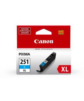 Cartucho de Tinta Cyan Canon CLI-251XL alto rendimiento