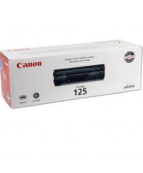 Canon125 Cartucho de toner Monocromatico Original Marca Canon Rendimiento Standard