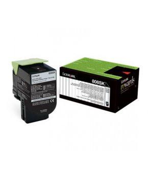 Toner Original Lexmark 808SK Negro 2,500 impresiones.