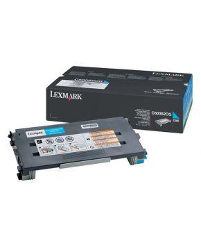 Toner Lexmark Original C500 Cyan para 1500 impresiones