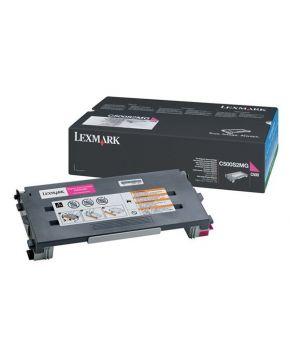 Toner Lexmark Original C500 Magenta para 1500 impresiones
