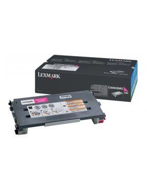 Toner Lexmark Original C500 Magenta alto rendimiento para 6600 impresiones
