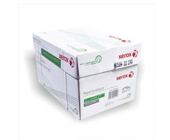 Caja de Hojas de maquina tamaño carta c/5,000 marca Xerox.