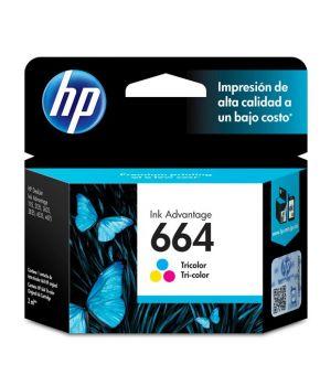 Cartucho de Tinta Original HP F6V28A Tricolor para 100 impresiones.