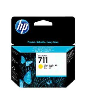 Cartucho de Tinta Original HP 711 Amarillo de 29 ml