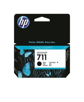 Cartucho de Tinta Original HP 711 Negro de 28 ml
