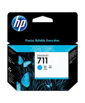 Cartucho de Tinta Original HP 711 Cyan de 29 ml