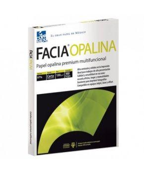 PAPEL FACIA OPALINA BLANCA CARTA 120 G/M2 PAQ. C/100