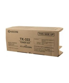 Cartucho de Toner Kyocera Mita TK-322 Negro original para 15,000 páginas